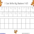 Gingerbread Handwriting Practice--Alphabet and Numbers to 20