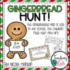 Gingerbread Hunt in the School