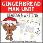 Gingerbread Man Language Arts Unit