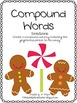 Gingerbread Literacy Center- Compound Words