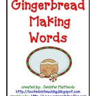 Gingerbread Making Words