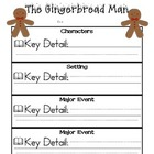 Gingerbread Man - Character, Setting, and Major Events CCS