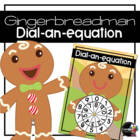Gingerbread Man Dial-a-Sum
