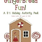 Gingerbread Man Literacy and Math Unit- 139 Pages of Fun!