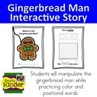 Gingerbread Man Positional and Color Book