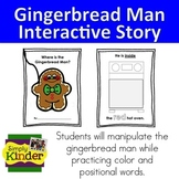Gingerbread Man Positional and Color Book {Simply Kinder}