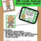 Gingerbread Man QR Code School Scavenger Hunt