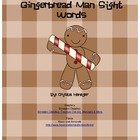 Gingerbread Man Sight Words
