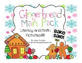 Gingerbread Man Unit: Literacy and Math Activities