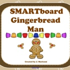 Gingerbread Man/Christmas-Themed Activities for the SMARTboard