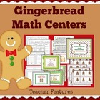 Gingerbread Math Center Activities