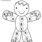 Gingerbread Math Game-An Addition Game