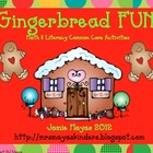 Gingerbread Math &amp; Literacy Fun!