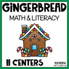 Gingerbread Math & Literacy Work Stations