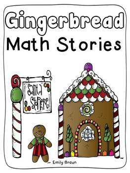Gingerbread Math Stories