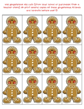 Gingerbread Measurement {FREE}