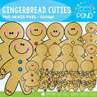 Gingerbread Cuties - Clipart Graphics From the Pond