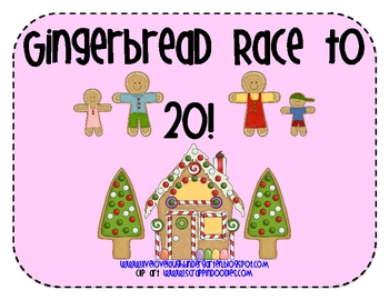 Gingerbread Race to 20!