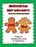 Gingerbread Sight Word Hunts