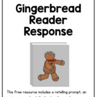 Gingerbread writing prompts and rubrics