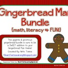 Ginormous Gingerbread Themed Bundle {Math, Literacy & FUN!}