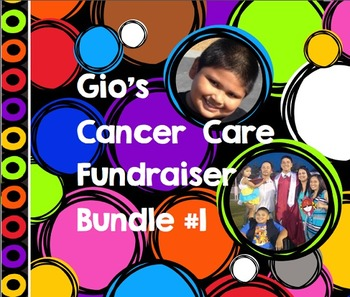 Gio's Cancer Care Fundraiser Bundle #1