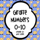 Giraffe Numbers 0-10