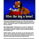 Give A Dog A Bone: Phonics File-Folder Games
