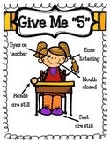 Give Me 5! Poster