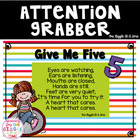 Give Me Five Attention Grabber Song