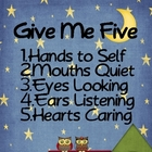 Give Me Five Chart Camping Theme