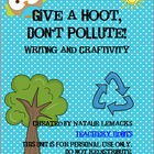 Give a Hoot, Don&#039;t Pollute!