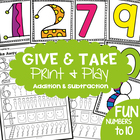 Give and Take - Introducing Addition &amp; Subtraction to Kind