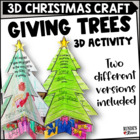 Giving Trees - A Christmas Craftivity for the Primary Grades