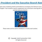 Glencoe Civics Today Chapter 7 The Executive Branch and th