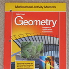 "Glencoe Geometry ""Multicultural Activity Masters"""