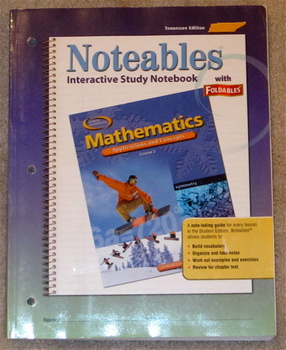 Glencoe Mathematics Applications and Concepts Course 2 Notables