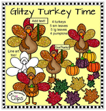 Glitzy Turkey Time