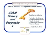 Global History and Geography I (Whole Course Part I), Worl