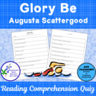 Glory Be A Bluebonnet Nominee Reading Comprehension Quiz