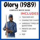 Glory - Movie Questions