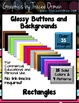 Glossy 3-D Buttons or Backgrounds Clip Art Commercial Use