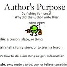 Go DEEP - Author's Purpose