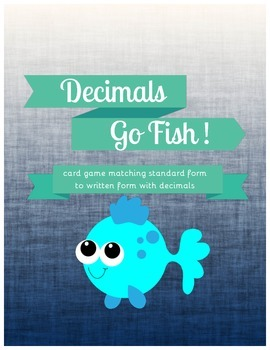 Go Fish Decimals