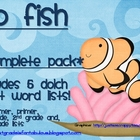 Go Fish GIANT PACK Dolch Sight Words Pre-Primer -- 3rd Grade
