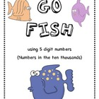 Go Fish Game with five digit numbers