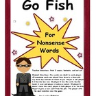 Go Fish! Nonsense Words