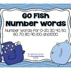 Go Fish Number Words Game