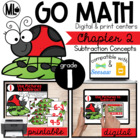 Go Math! Chapter 2 Centers for First Grade
