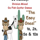 Go Monkey! Division Go Fish Game ~ The Easy Ones, 1, 2, 5 &amp; 10